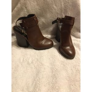 Forever 21 Backless Booties